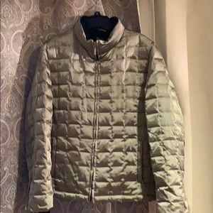 NY&CO Grey Puffer Jacket Sz Large